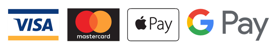 Visa Mastercard Google Pay Apple Pay